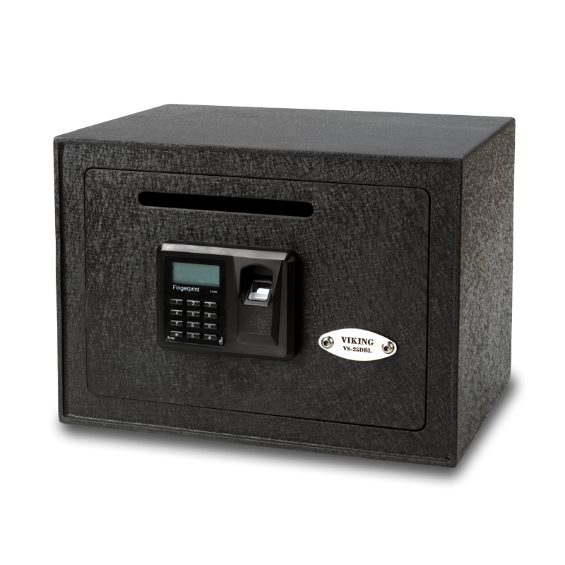 viking security safe vs 25dbl small depository biometric. Black Bedroom Furniture Sets. Home Design Ideas
